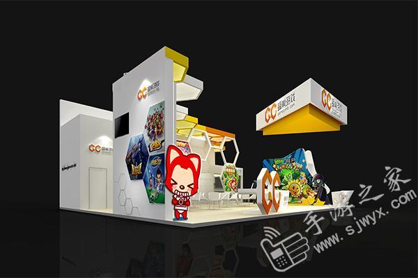 蜂巢游戏2014chinajoy展台设计曝光